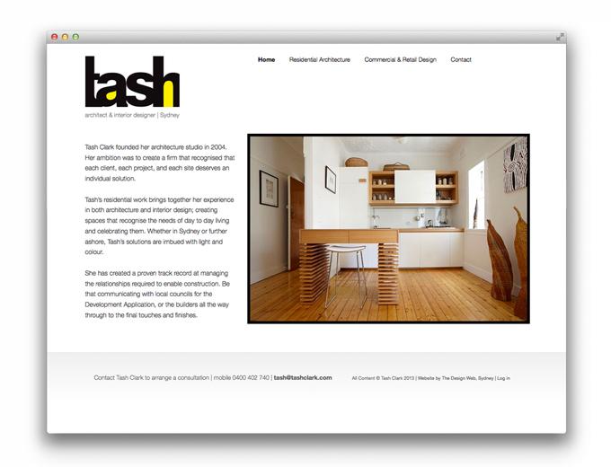 The Design Web Tash Clark Architect Interior Designer
